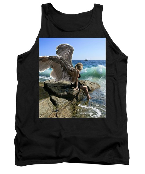 Angels- I'm Watching Over You Tank Top