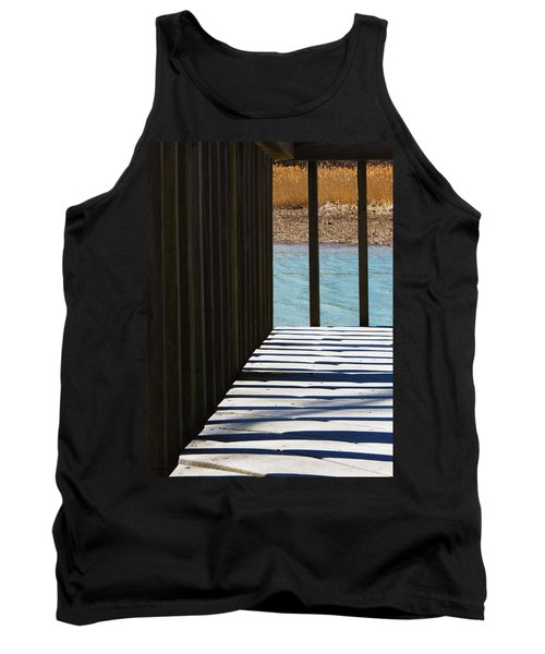 Tank Top featuring the photograph Angles And Shadows by Shawna Rowe