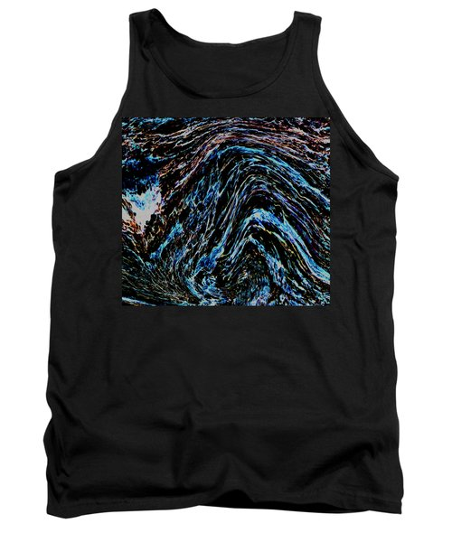 Tank Top featuring the photograph Angry Sea by Stephanie Grant