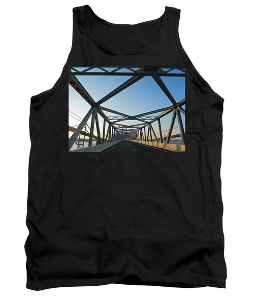 Annapolis Bay Bridge At Sunrise Tank Top by Emmy Marie Vickers