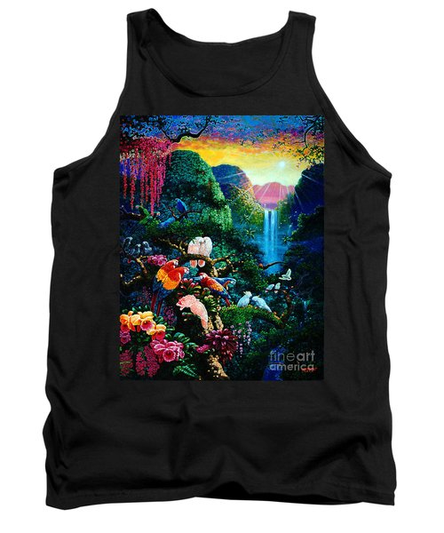 Another Day In Paradise - Digital 2 Tank Top