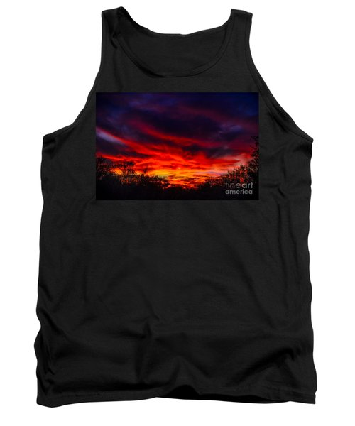 Tank Top featuring the photograph Another Tucson Sunset by Mark Myhaver