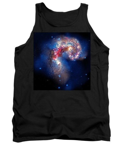 Antennae Galaxies Collide 2 Tank Top by Jennifer Rondinelli Reilly - Fine Art Photography