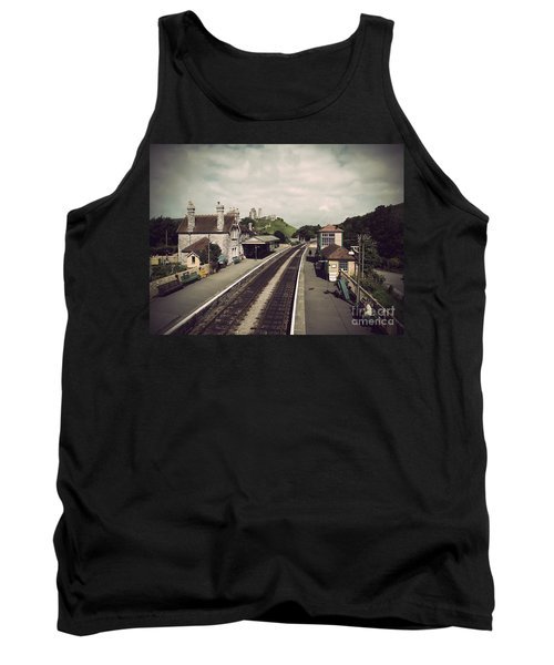Antique Corfe Castle Tank Top by Linsey Williams