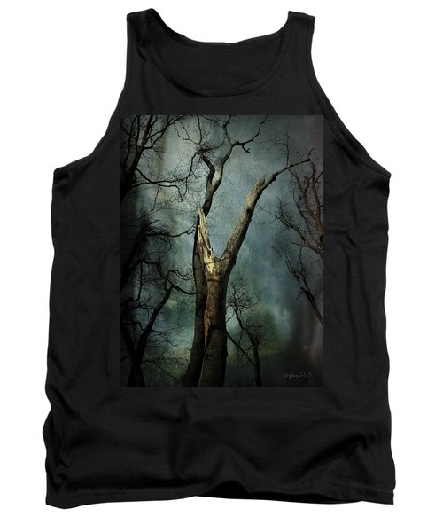 Appeal To The Sky Tank Top by Cynthia Lassiter