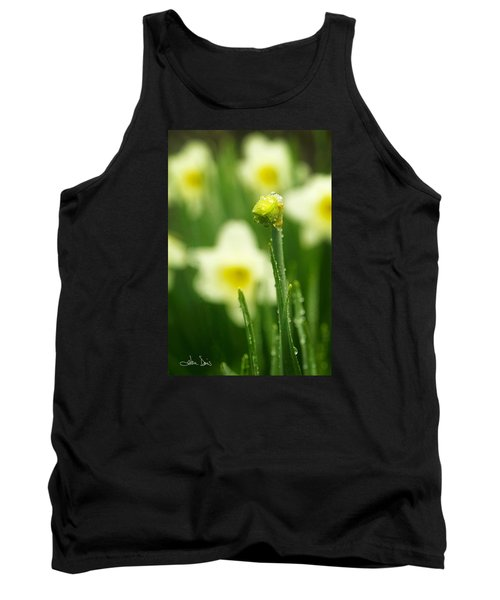 Tank Top featuring the photograph April Showers by Joan Davis