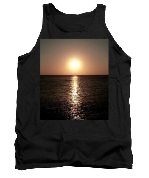Tank Top featuring the photograph April Sunset by Amar Sheow