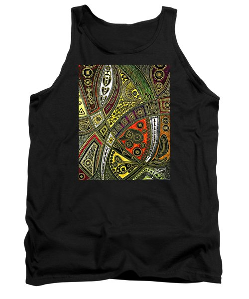 Arabian Nights Tank Top by Jolanta Anna Karolska