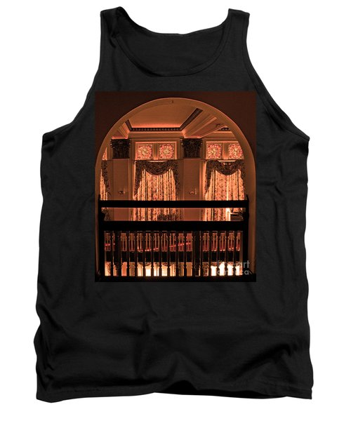 Arch Of Light In Near Night Tank Top