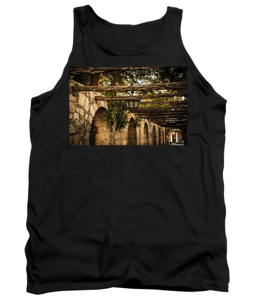 Arches At The Alamo Tank Top by Melinda Ledsome
