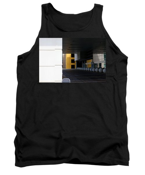 Architectural Pattern Spheres Tank Top
