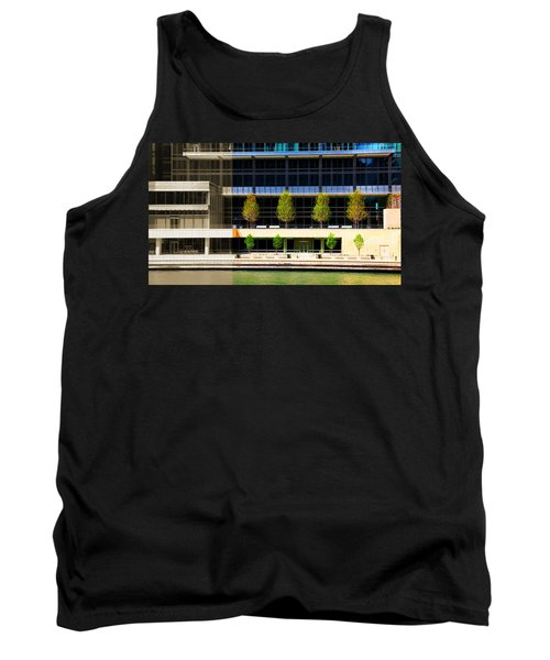 Architectural Pattern Trees Tank Top