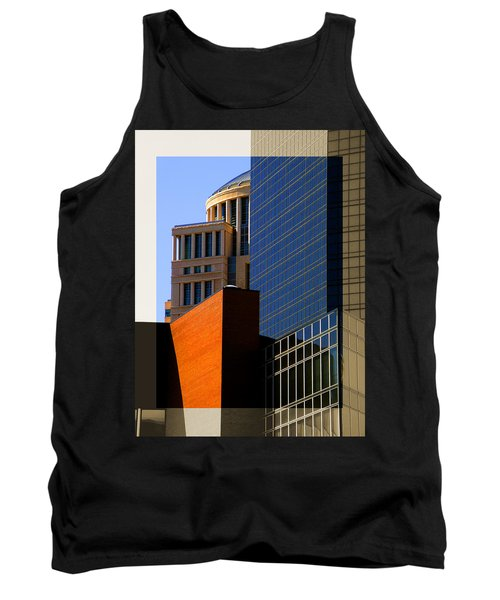 Architectural Stone Steel Glass Tank Top