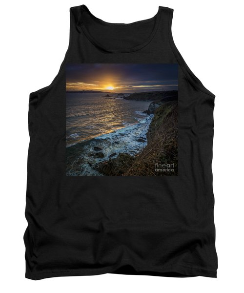 Ares Estuary Mouth Galicia Spain Tank Top