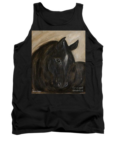 Tank Top featuring the painting Arion by Barbie Batson