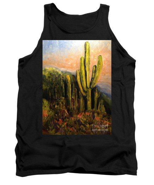 Arizona Desert Blooms Tank Top