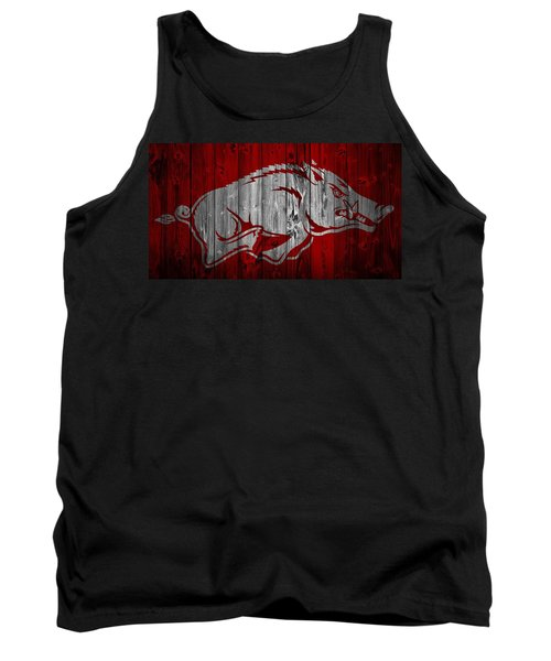 Arkansas Razorbacks Barn Door Tank Top