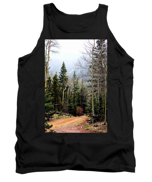 Around The Bend Tank Top by Barbara Chichester