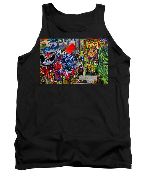 Art Alley Three Tank Top