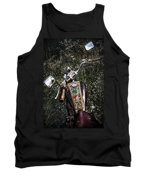 Art In The Weeds Tank Top by Melinda Ledsome