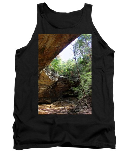 Ash Cave Of The Hocking Hills Tank Top