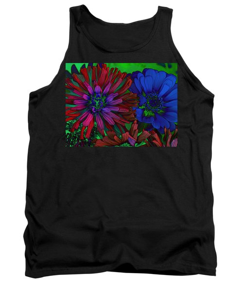 Asters Tank Top