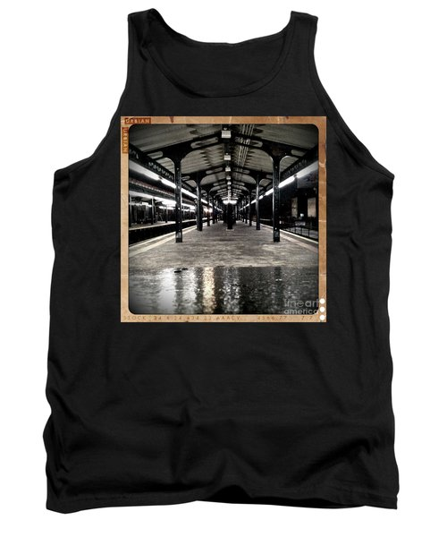 Tank Top featuring the photograph Astoria Boulevard by James Aiken