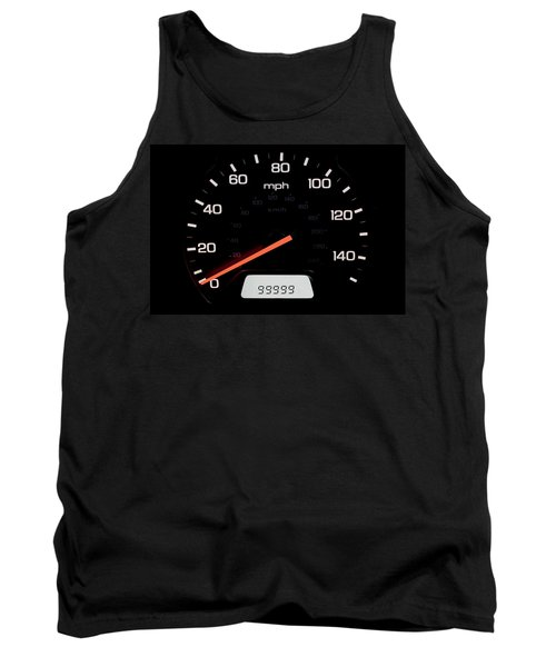 Tank Top featuring the photograph At A Milestone by Andrew Soundarajan
