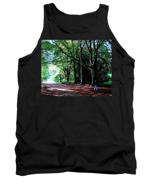 Tank Top featuring the photograph At Peace With Nature by Charlie Brock