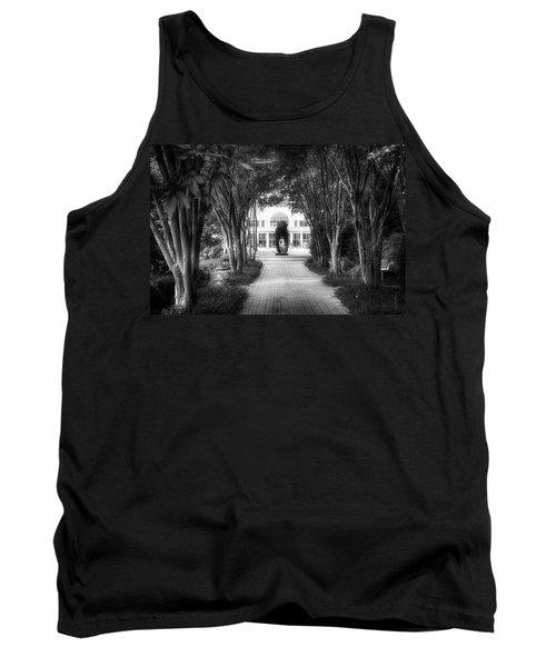 Atlanta Botanical Garden-black And White Tank Top
