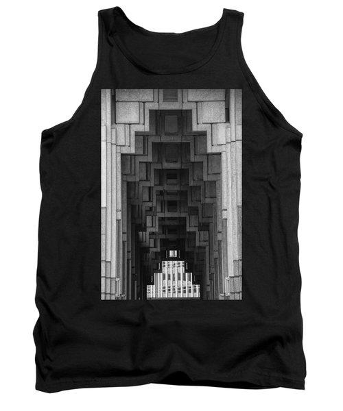 Atlanta Ga Architecture-city Building Tank Top
