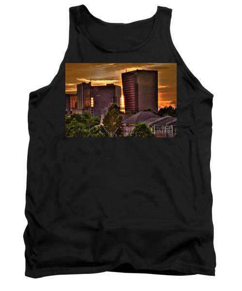 Georgia Power Building Sunset Tank Top