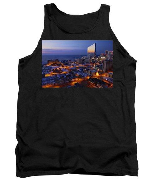 Atlantic City At Dawn Tank Top by Joan Reese