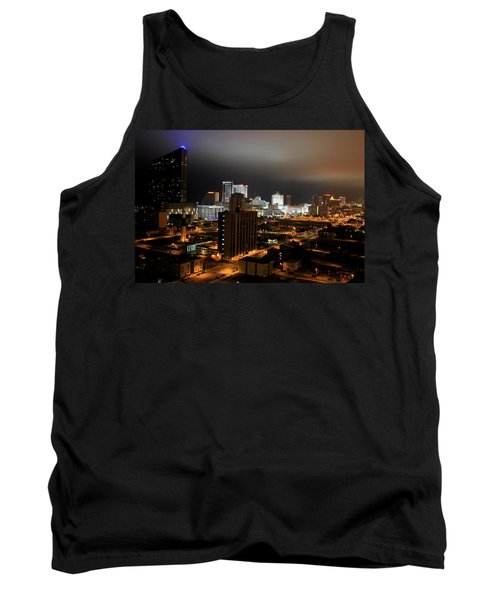 Atlantic City At Night Tank Top