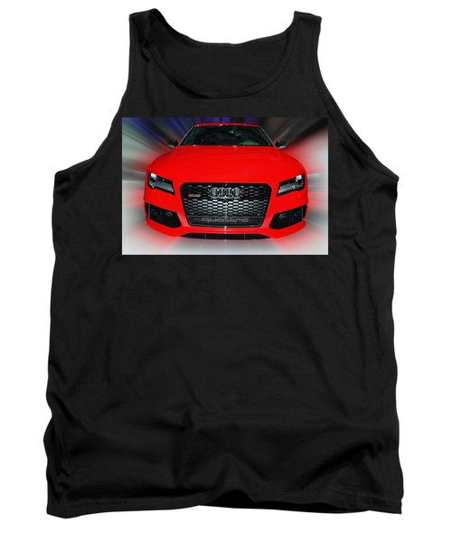 Audi Quattro Rs7 2014 Tank Top
