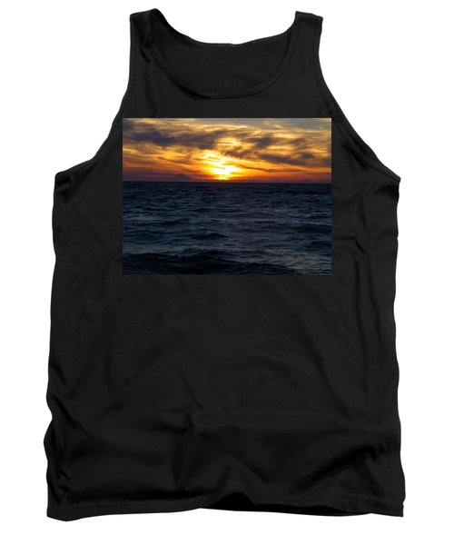 Tank Top featuring the photograph Augustine Sleeps by Jeremy Rhoades