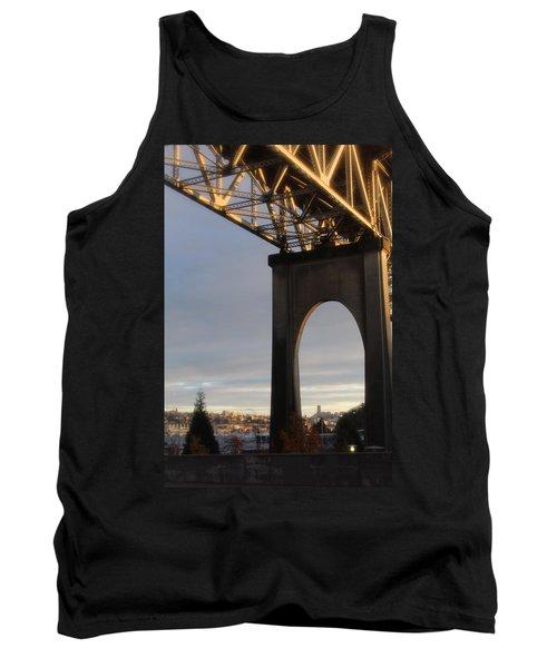 Aurora Bridge Seattle Washington  Tank Top