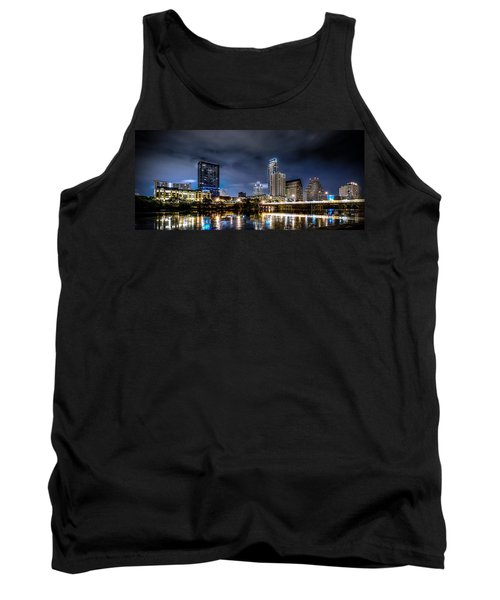 Austin Skyline Hdr Tank Top by David Morefield