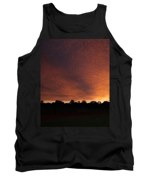 Autum Sunset Tank Top