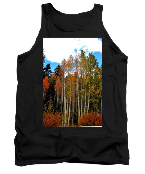 Autumn Aspens Tank Top