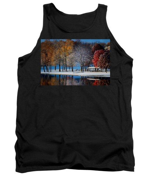 Autumn Blues Tank Top