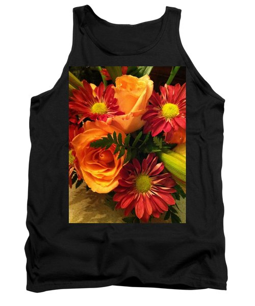 Autumn Bouquet Tank Top