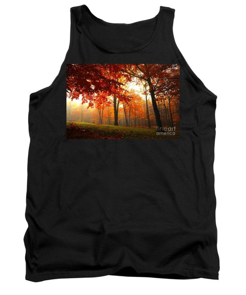 Autumn Canopy Tank Top