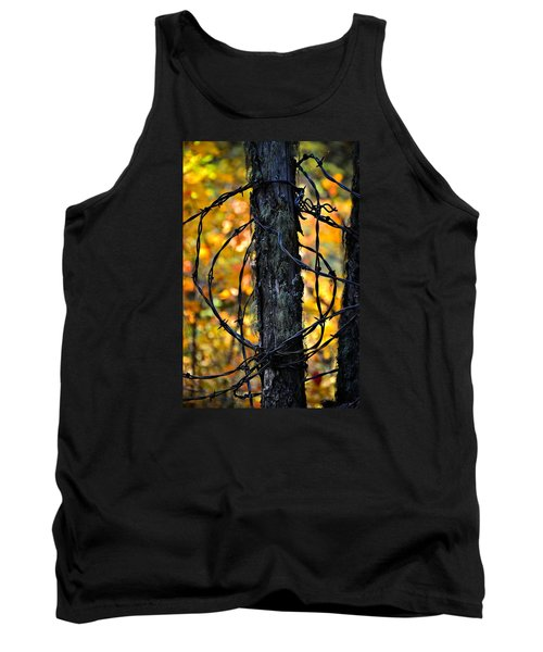 Tank Top featuring the photograph Autumn Colors 1 by Newel Hunter