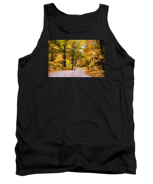 Autumn Colors - Colorful Fall Leaves Wisconsin - II Tank Top by David Perry Lawrence