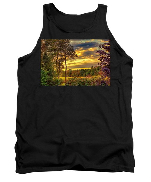 Autumn Colors Tank Top by Fred Larson