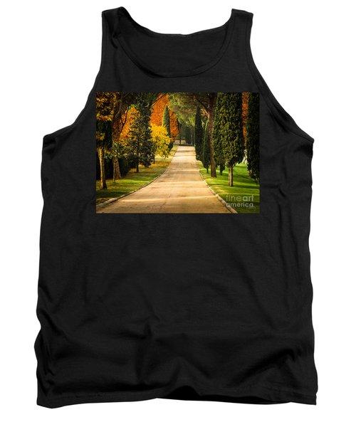 Autumn Drive Tank Top