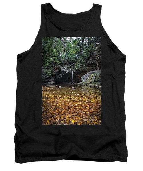 Autumn Falls Tank Top by James Dean
