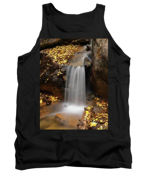 Autumn Gold And Waterfall Tank Top