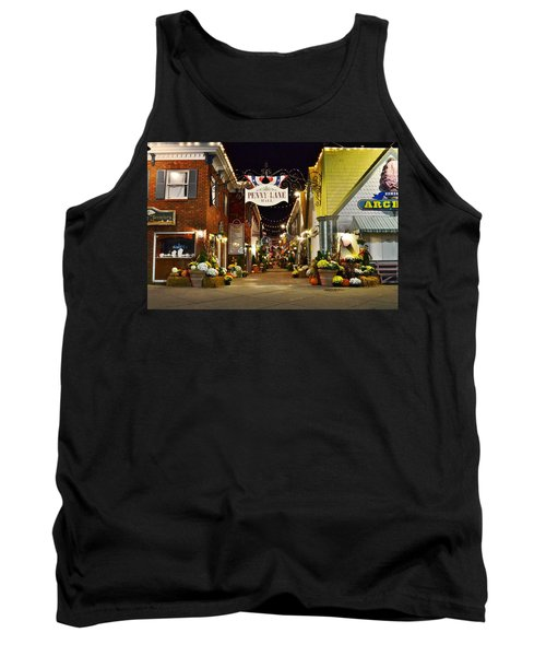 Autumn In Penny Lane - Rehoboth Beach Delaware Tank Top